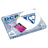 CLAIREFONTAINE DCP 1807 PAPER A4 200GSM WHITE - REAM OF 250