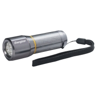 LUCE LED ENERGIZER VISION METAL LIGHTS BATTERIE 3AAA