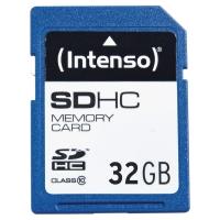SD CARD CLASSE 10 INTENSO SDHC 32GB