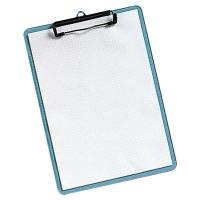 A4 透明藍色單板夾