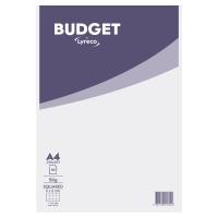 Blok z okładką Lyreco Budget, A4, kratka, 50 kartek