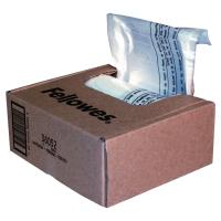Paquete de 100 bolsas de plástico FELLOWES para destructora de hasta 28 litros