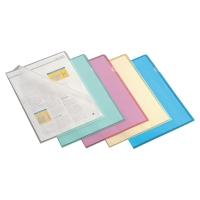 Lyreco L-mappen A4 PP 11/100e geel - doos van 100