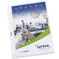 Koszulka groszkowa LYRECO Budget, A4 U, 50 mikronów, opakowanie 100 sztuk