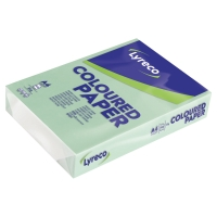 LYRECO COLOURED COPY PAPER A4 80G - GREEN - REAM OF 500 SHEETS