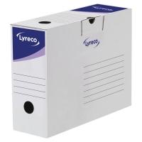 Lyreco 檔案儲存箱 H25 x W34 x D10厘米