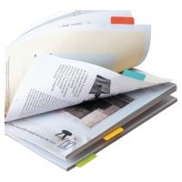 Indeksy 3L samoprzylepne 12 x 40 mm dwustronne miks kolorów opakowanie 24 sztuki