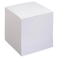 Ersatzzettel Lyreco geleimt, 9x9 cm, 900 Blatt, weiss