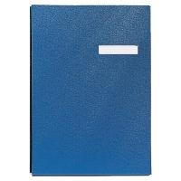 Unterschriftenmappe Esselte A4 20teilig blau