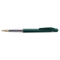 Bic M10 intrekbare balpen medium groen