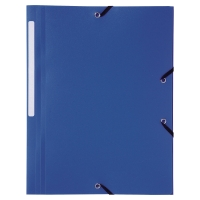 Teczka polipropylenowa LYRECO A4 niebieska