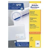 Avery 3475 étiquettes polyvalentes 70x36mm - boite de 2400