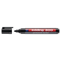 Edding 300 permanente marker ronde punt 1,5 - 3mm zwart
