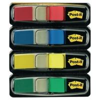 3M Post-it® 683 Záložky 12x44mm, bal. 4 farby v zásobníku po 35 lístkov