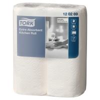 Pack de 2 rollos de papel de cocina Tork Premium