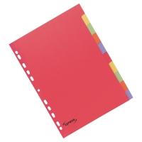 Przekładki kartonowe LYRECO A4 10 stron
