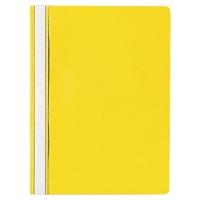 Schnellhefter Lyreco Budget A4, PP, gelb