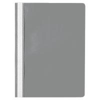 Lyreco Budget snelhechtmap A4 PP grijs