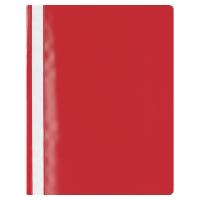Lyreco Budget snelhechtmap A4 PP rood