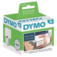 DISKETTETIKETT DYMO LW 70X54 MM VIT 320 ST/PACK