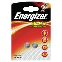 Batterien Energizer Silver Oxide EPX76/SR44, Knopfzelle, 1,55V, Pk. à 2 Stk.