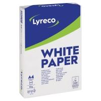 Papier LYRECO A4, 80 g/m², w opakowaniu 5 ryz po 500 arkuszy