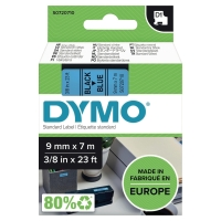 D1 páska Dymo čierno-modrá 9 mm x 7 m