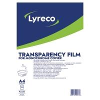 KOPIERINGSBARFILM LYRECO A4 KLAR 100 ST/ASK