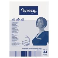 Lyreco transparanten/slides voor kopieermachines met blad - doos van 100