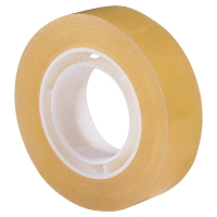TAPE LYRECO BUDGET 15 MM X 33M KLAR