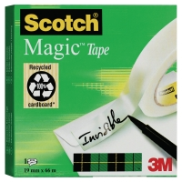 Scotch Magic 810 onzichtbaar plakband 19mmx66 m