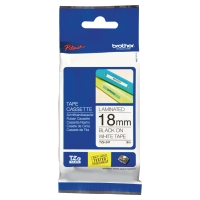 Brother TZe241 etiketteerlint/tape 18mm zwart/wit
