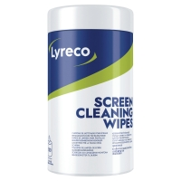LYRECO SCREEN WIPES BOX OF 100 WIPES