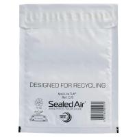 Obálky biele bublinkové Mail Lite®Tuff™ (150 x 210 mm), 100 kusov/balenie