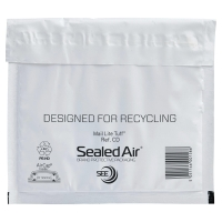 Versandtaschen Sealed Air Mail Lite® Tuff CD/DVD, 180x160 mm, Pk. à 100 Stk.