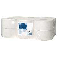 Pack de 12 bobinas de papel higiénico Mini-Jumbo TORK 2 capas 170m nature