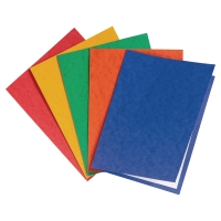 Pack de 25 subcarpetas   formato A4  cartulina colores surtidos 225g2