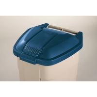 Tapa azul para contenedor de residuos RUBBERMAID