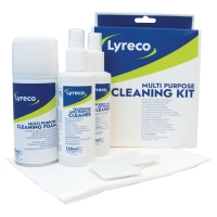 LYRECO MULTIPURPOSE COMPUTER CLEANING KIT