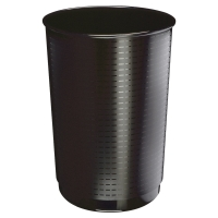 Papelera gigante 40 l color negro  CEP  Dimensiones:    495 x 380mm diámetro