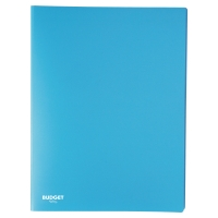 Carpeta flexible de 20 fundas fijas LYRECO en color azul