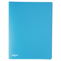 Carpeta flexible de 50 fundas fijas LYRECO en color azul