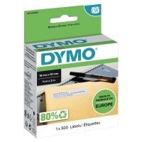 ETIKETT DYMO LABELWRITER 11355 19X51MM 500/PAKKE