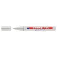 Edding 750 paint marker ronde punt 2-4mm wit