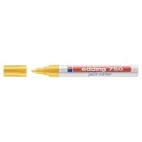 Lakový popisovač Edding 750, guľatý hrot, žltý