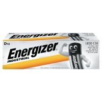 Batérie Energizer Industrial, D, 12 kusov v balení