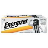 Batérie Energizer Industrial, C, 12 kusov v balení