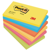 NOTISBLOCK POST-IT 655 NEON RAINBOW 76X127MM NOTE 6 ST/FP