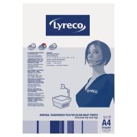 UNIVERSALFILM TILL INKJET LYRECO A4 50 ST/ASK