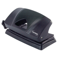 LYRECO 2 HOLE PUNCH 10 SHEETS BLACK